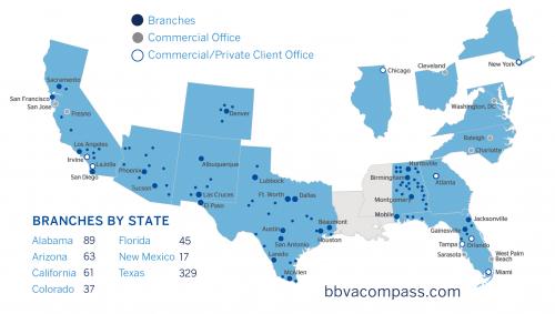 bbva compass bank locations in california