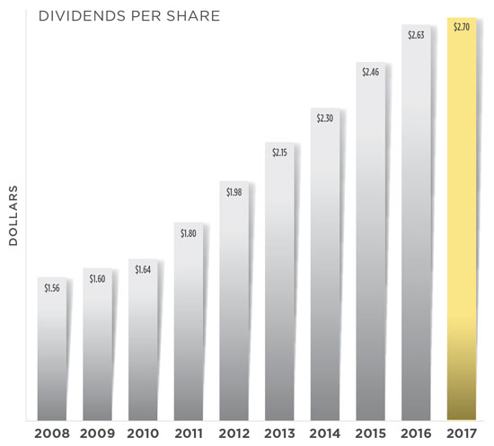 Dividends & Shareholder Return