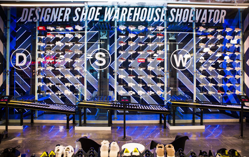 Designer Shoe Warehouse Opens Store on