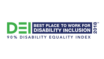 2018 DEI Best Place to Work for Disability Inclusion