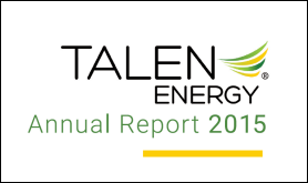 Talen Energy 2015 Annual Report