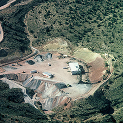 Pigeon Mine (now reclaimed in Arizona)